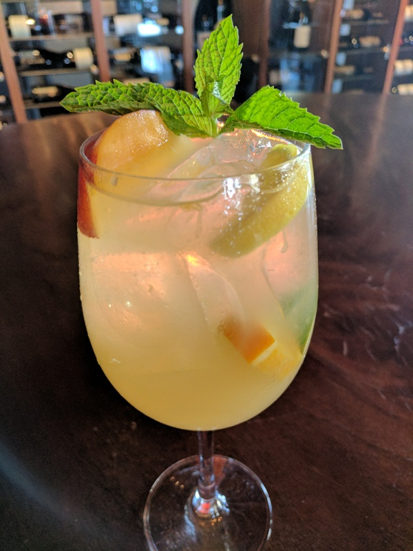 Jimmy's Famous American Tavern Peach Sangria