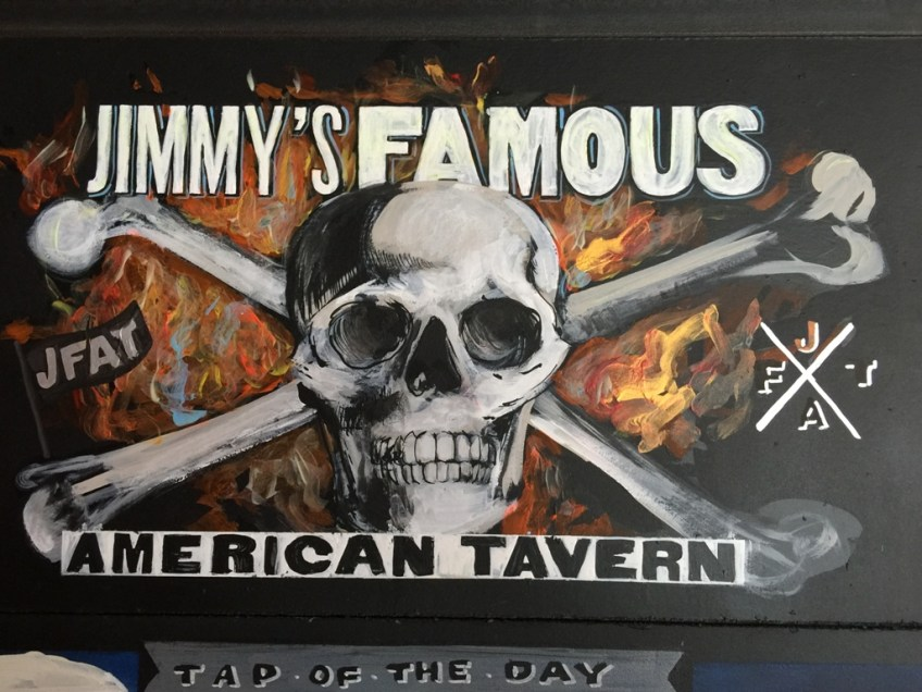 Jimmy's Famous American Tavern Skull and Crossbones
