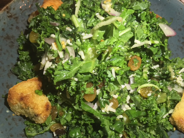 Swine Kale Salad