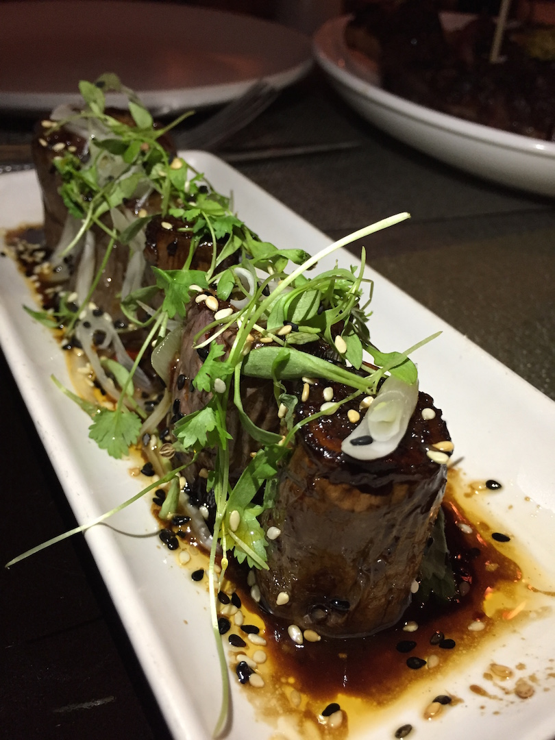 LT Steak and Seafood - Steamed Chinese Garlic Eggplant