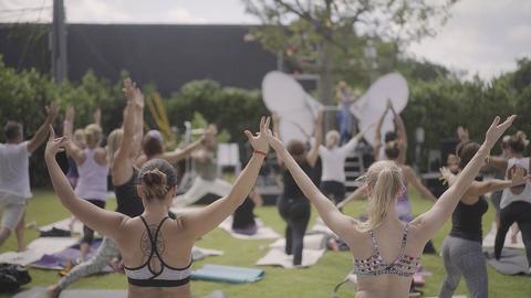 Modern Om Mindfulness Festival Yoga