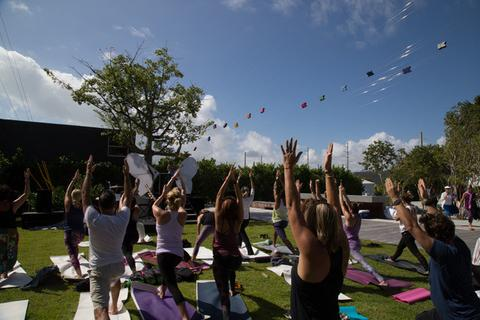 Modern Om Mindfulness Festival Butterfly Yoga