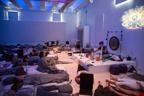 Modern Om Mindfulness Festival Crystal Bowls