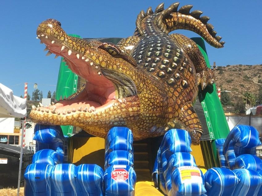 Eat Play Move Croc slide