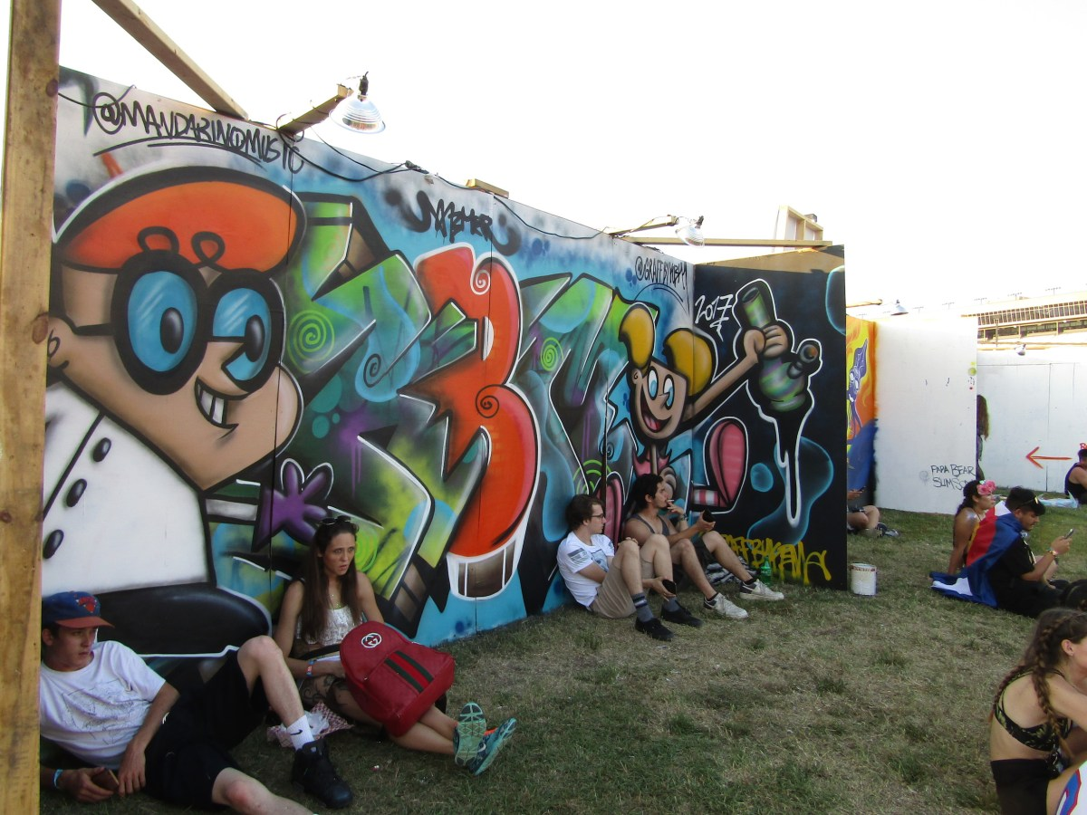 Imagine Festival Art Walls