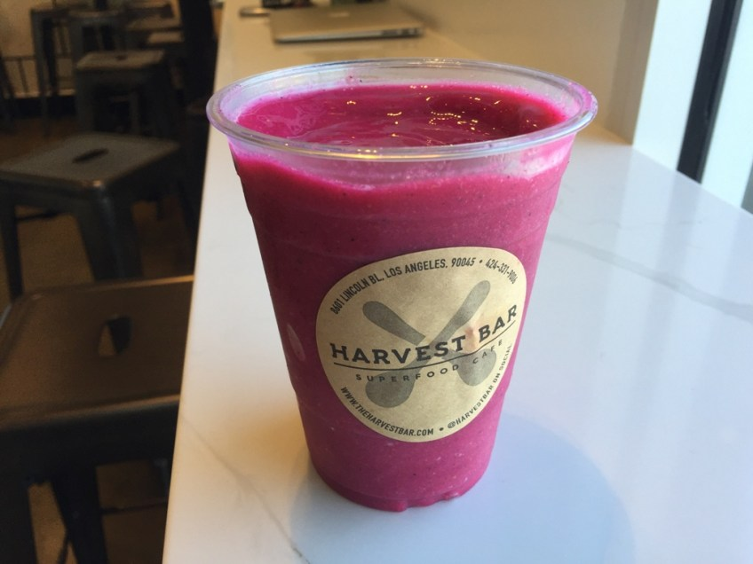 The Harvest Bar Playa Hot Pink Smoothie 3