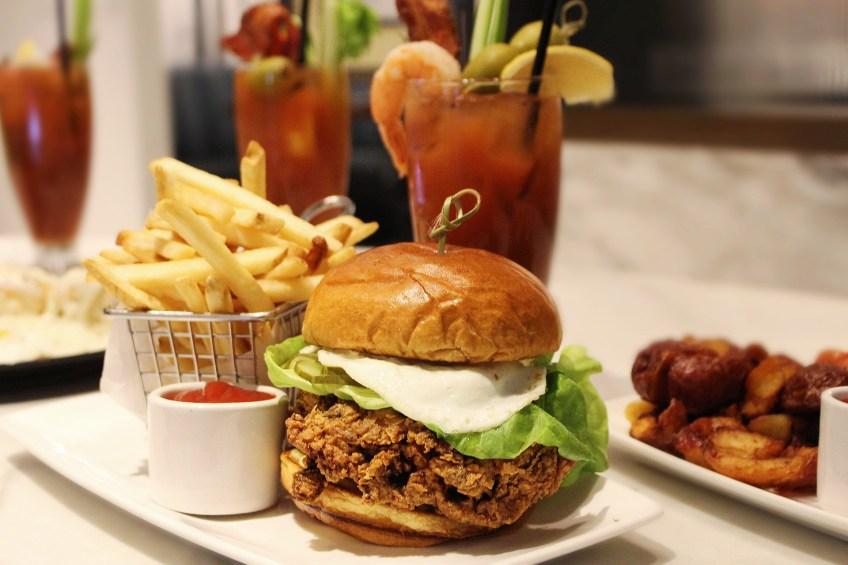 The Gwen Luxury Hotel Chicken Sandwich