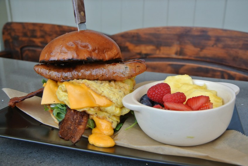 Doma Kitchen's Thanksgiving Breakfast Sandwich