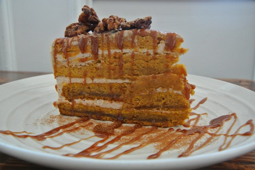 Doma Kitchen's Thanksgiving Pumpkin Cake 1