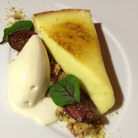 Scarpetta Brulled Lemon Tart
