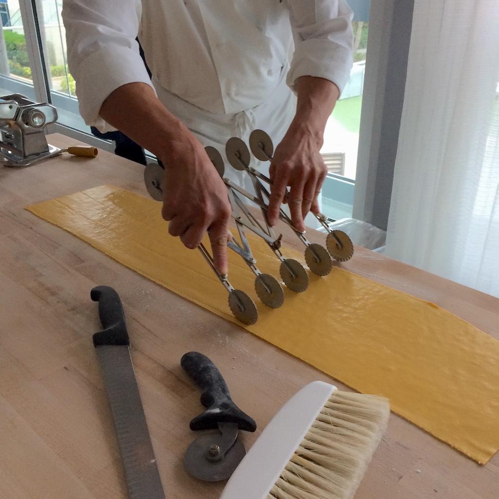 Scarpetta Pasta Making Step 6