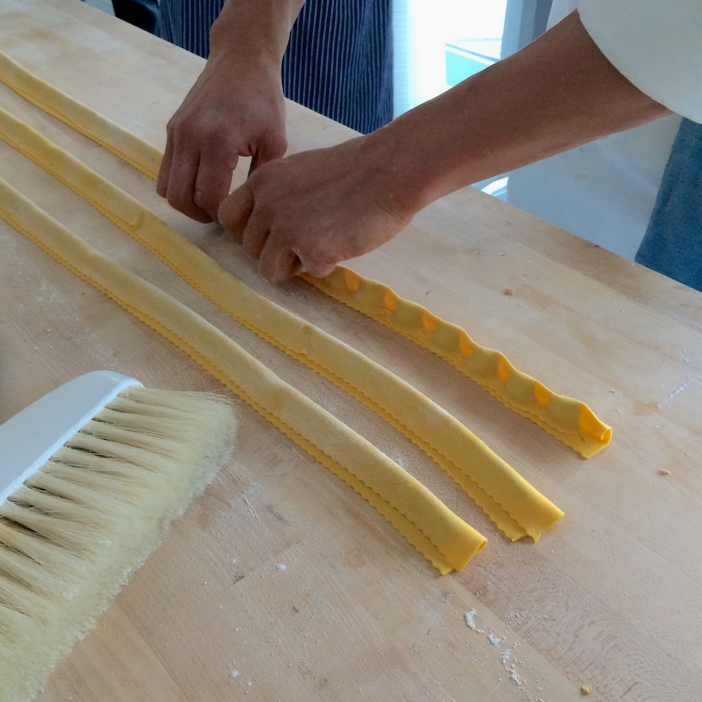 Scarpetta Pasta Making Step 9