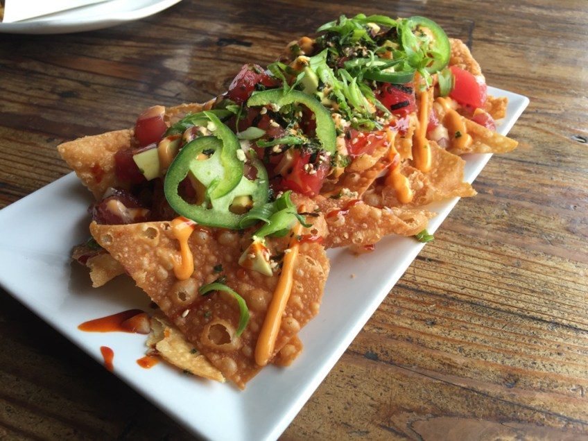 The Standing Room Tuna Poke Nachos 2