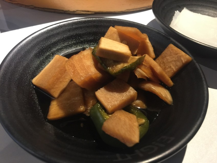 Eight Korean BBQ - Pickled Pumpkin