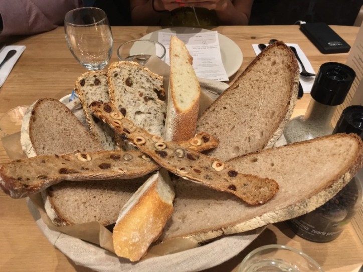 Le Pain Quotidien Artisanal Bread Basket