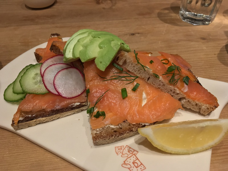 Le Pain Quotidien Salmon Tartine