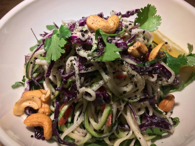 Le Pain Quotidien Zucchini Pad Thai