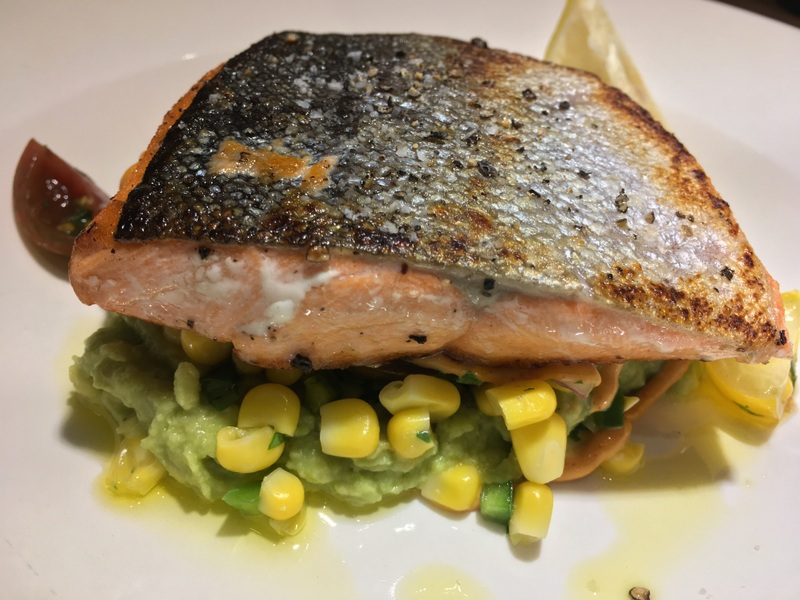 Le Pain Quotidien Roasted Wild Salmon