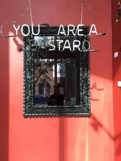 LaMuse Café Bastard Mirror Art