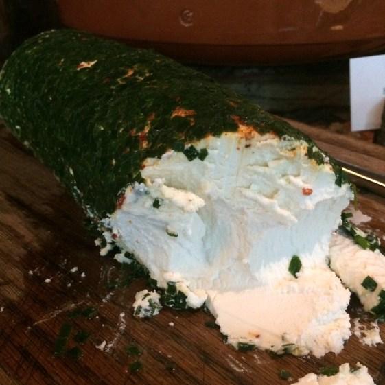 Quinto La Huella Herbed Goat Cheese Log