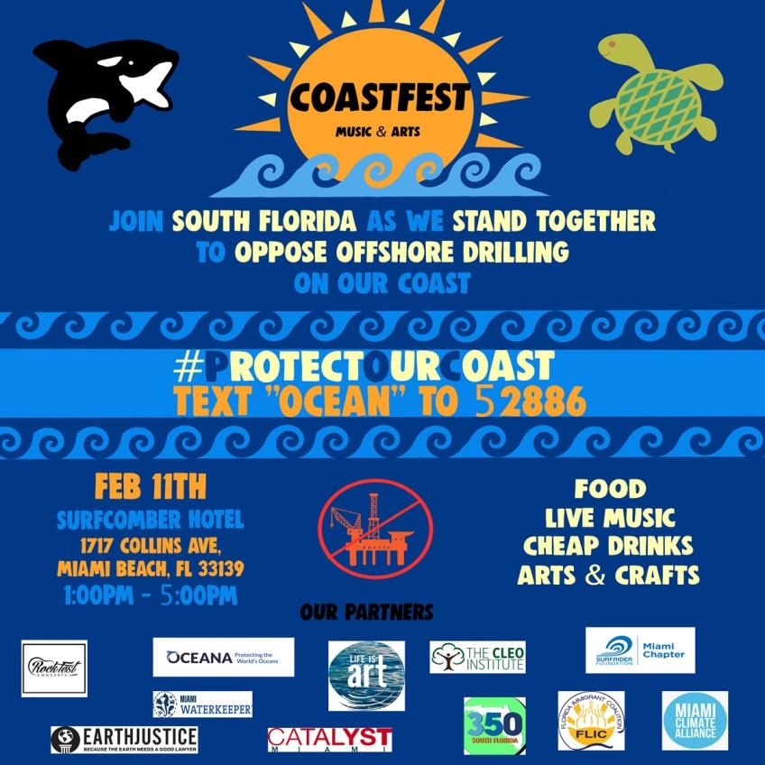 coastfest flyer