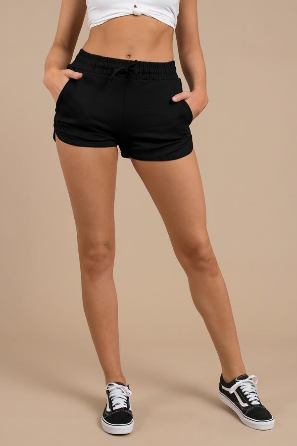 Travel Clothes TOBI Black Shorts