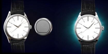 Chronos klasično ročno uro neopazno preobrazi v pametno.