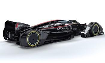Bodoči bolid Formule 1 McLaren MP4-X