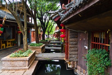Staro mesto, Lijiang, Kitajska