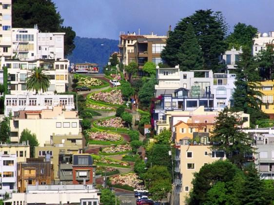 Lombard Street, San Francisco, ZDA
