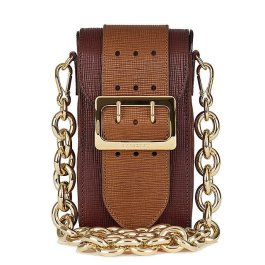 Burberry Oblong Belt Bag in Textured Leather