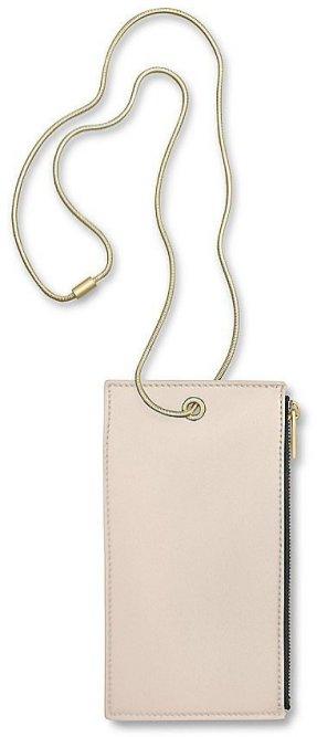 Calvin Klein Calf Smartphone Holder With Snake Chain