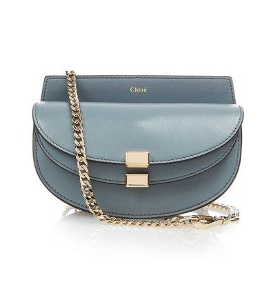 Chloé 'Georgia' Leather Cross-Body Bag