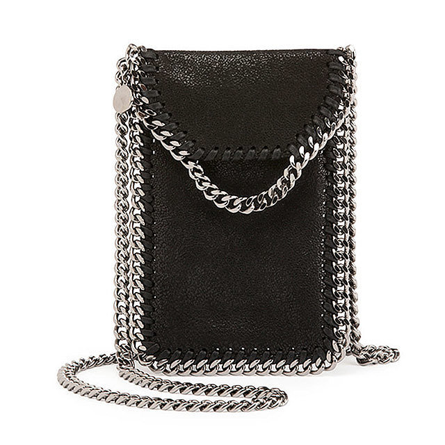 Stella McCartney Crossbody Bag Phone Holder w/Chain Trim