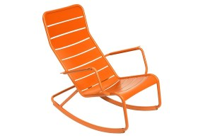 Luxembourg Rocking Chair, Carrot (onekingslane.com, okoli 1000 evrov)
