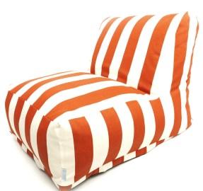 Indoor/Outdoor Vertical Strip Bean Bag Chair Lounger (overstock.com, okoli 100 evrov)
