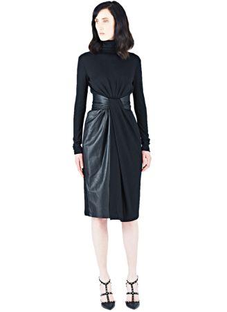 Vionnet Roll Neck Leather Dress (ln-cc.com, 1795 €)