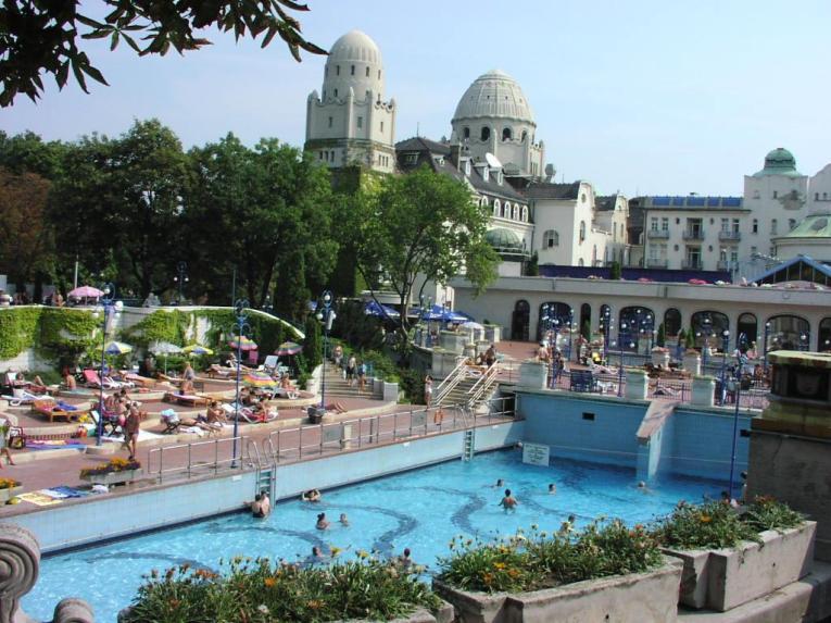 Budimpešta, Madžarska: Gellért Thermal Baths
