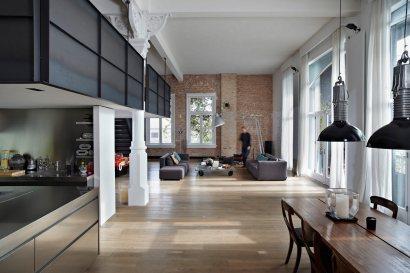 Očarljivi loft z vrhunskimi dizajnerskimi elementi