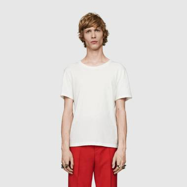 Gucci Washed Cotton T-Shirt – cena: 387 evrov