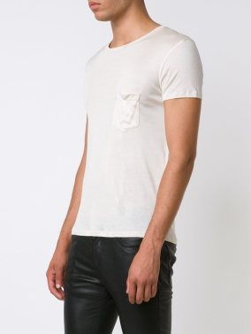 Saint Laurent Relaxed Pocket T-Shirt – cena: 441 evrov