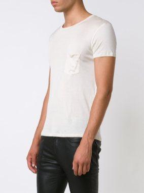 Saint Laurent Relaxed Pocket T-Shirt – cena: 441 evrov