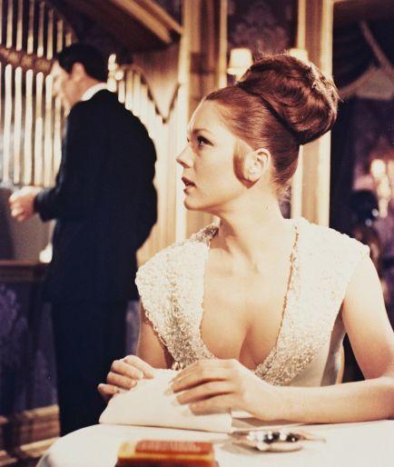 1969: Diana Rigg kot Teresa di Vicenzo (V službi njenega veličanstva)