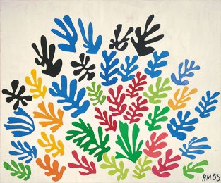 Henri Matisse, La Gerbe (1953)