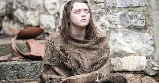 16. Arya Stark (Maisie Williams) - Igra prestolov
