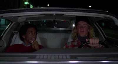 Jeff Spicoli (Sean Penn) in Charles Jefferson (Forest Whitaker) v filmu Fast Times at Ridgemont High (Divji časi na gimnaziji Ridgemont, 1982)