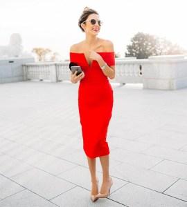 Rdeča obleka
