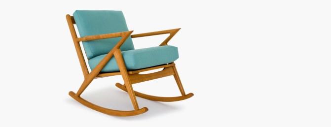 Top 10 modernih gugalnikov, ki so videti odlično v vsakem prostoru: Soto Rocking Chair from Joybird