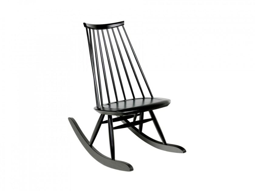 Top 10 modernih gugalnikov, ki so videti odlično v vsakem prostoru: Mademoiselle Rocking Chair by Ilmari Tapiovara for Artek