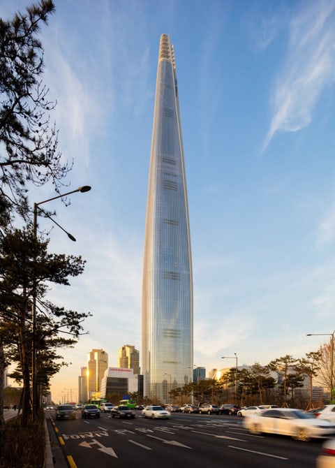 Nebotičnik Lotte World Tower
